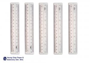 15CM White Edge Ruler