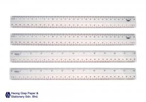 30CM White Edge Ruler