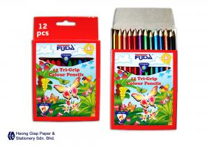 Trigrip Colour Pencils 12 Col