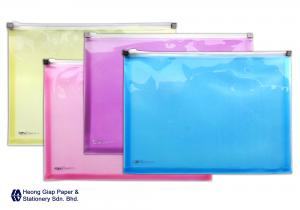 A4 Zipper Document Holder