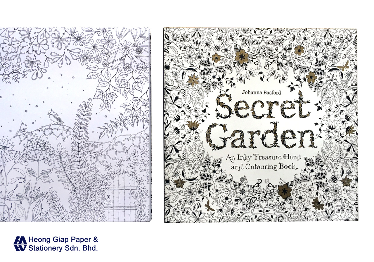 Secret Garden Colouring Book Malaysia